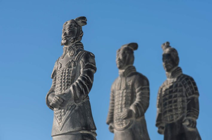 Terra Cotta Army in Xian as part of China Trade History