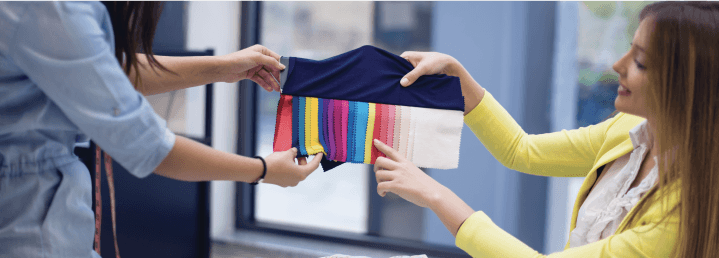 How to make custom sportswear and fitness clothing based on colors.