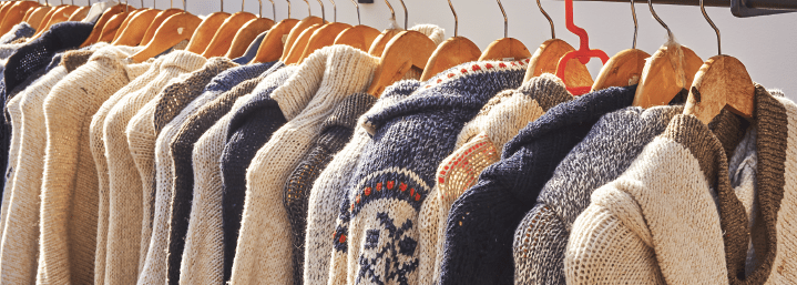 Samples of how to make custom sweaters