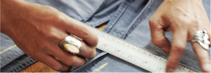 Find a custom pants manufacturer conscious of the right measurements.