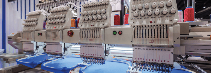 Find a custom shirt manufacturer with the right equipment.