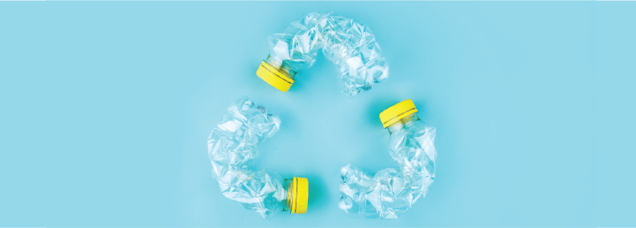 recycle plastics at home
