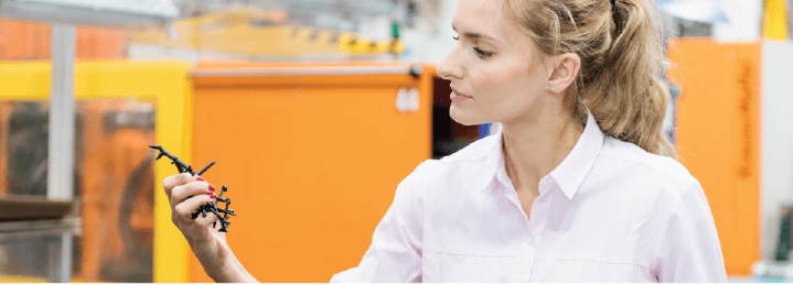 Satisfaction guaranteed; clear benefits of plastic injection moulding.